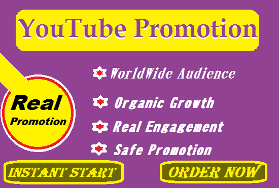 Promotion and Marketing of YouTube Video to Right Audience