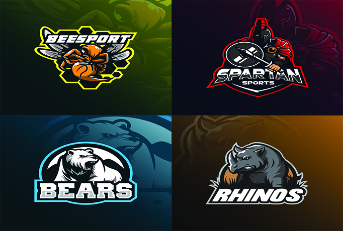 logo for twitch,  avatar,  mascot gaming