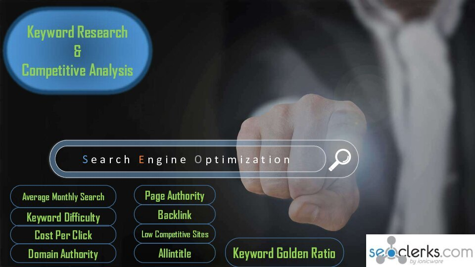 30+ KGR keyword Research and Competitor Analysis with website audit for Google 1st page ranking