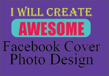 I will design professional facebook cover photo banner desgine