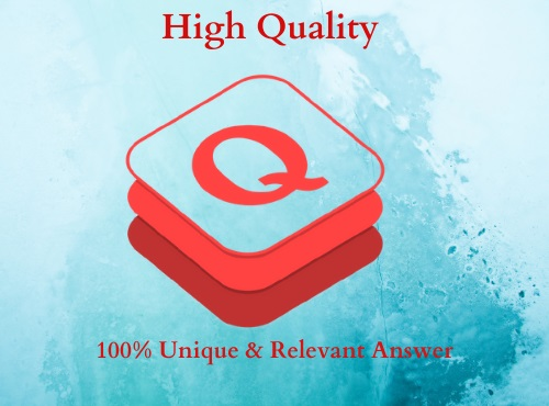 I will Promote 20 High Quality Quora answer with your keyword & URL