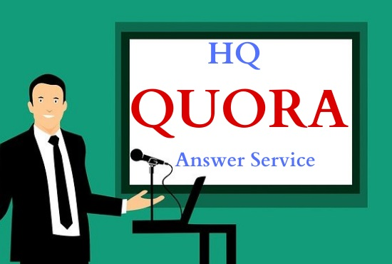 I will Promote 3 High Quality Quora answer with your keyword & URL