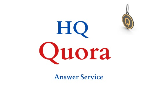 I will provide 10 High quality Quora Answer with your keyword & URL