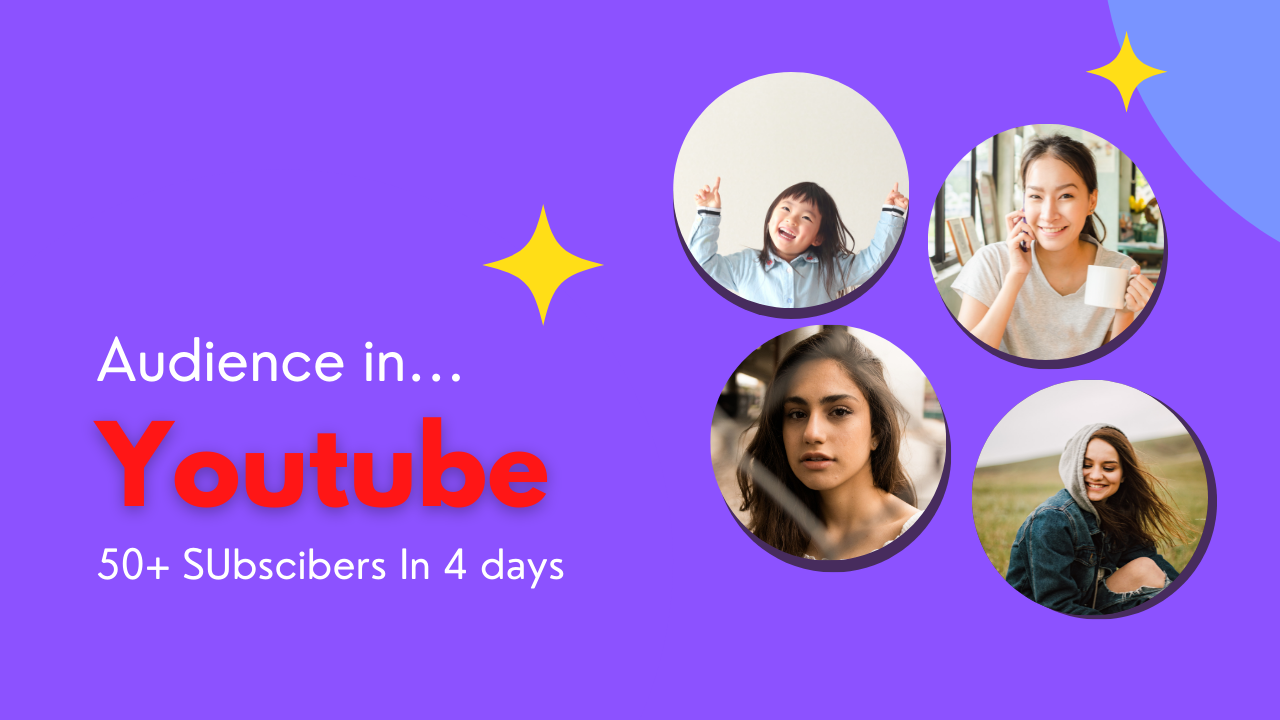 Giving 50 Organic youtube audience On your Niche
