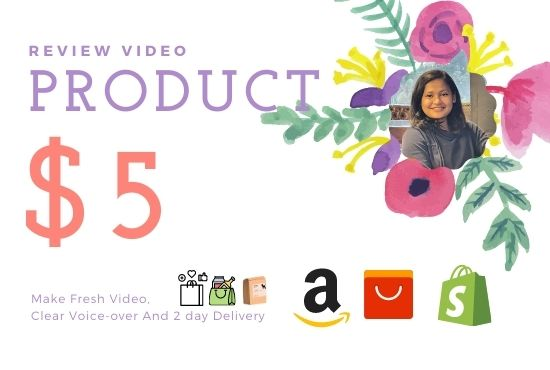 create product review video with facecam