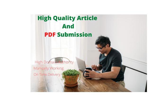 I Will do Demanded 30 Article and PDF Submission