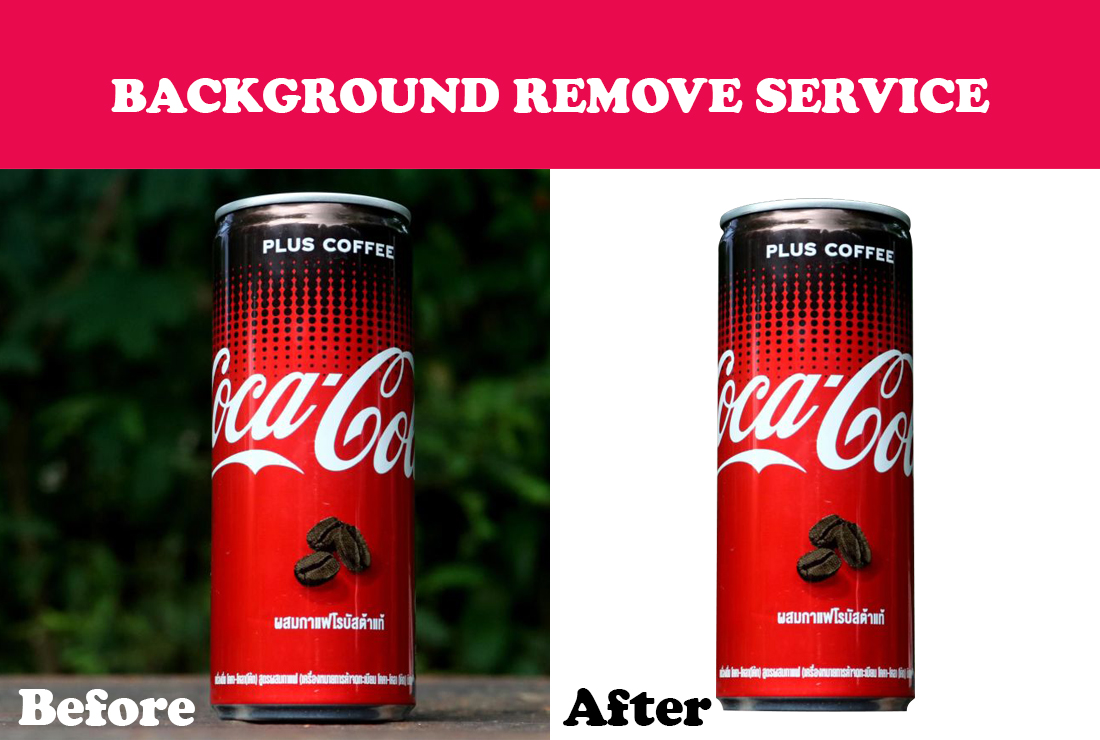 I will do background removal/ change/ retouching/ resizing 2 image
