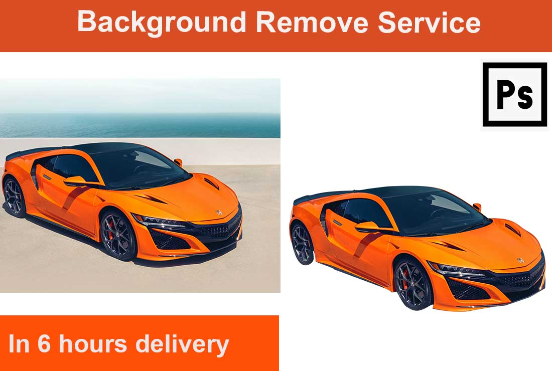 I will do amazon product photo background removal 5 images