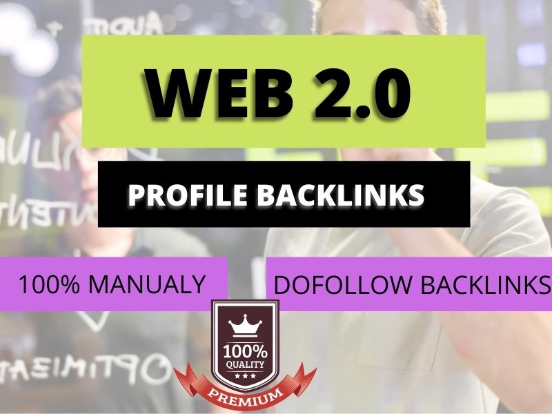 I will create 50+ Web 2.0 dofollow profile backlinks