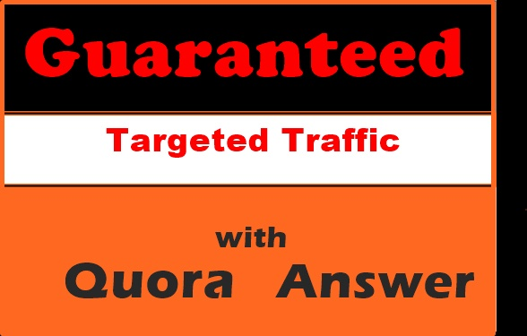 Great offer great offer targeted traffic 15 Quora answer backlinks