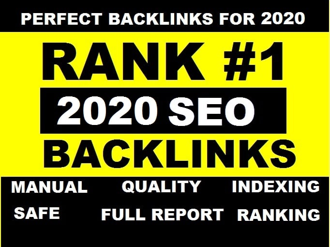 I will improve your google ranking with manual high quality SEO backlinks.