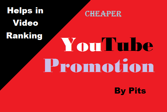 YouTube VIDEO and CHANEL Promotion with combined package and fast delivery