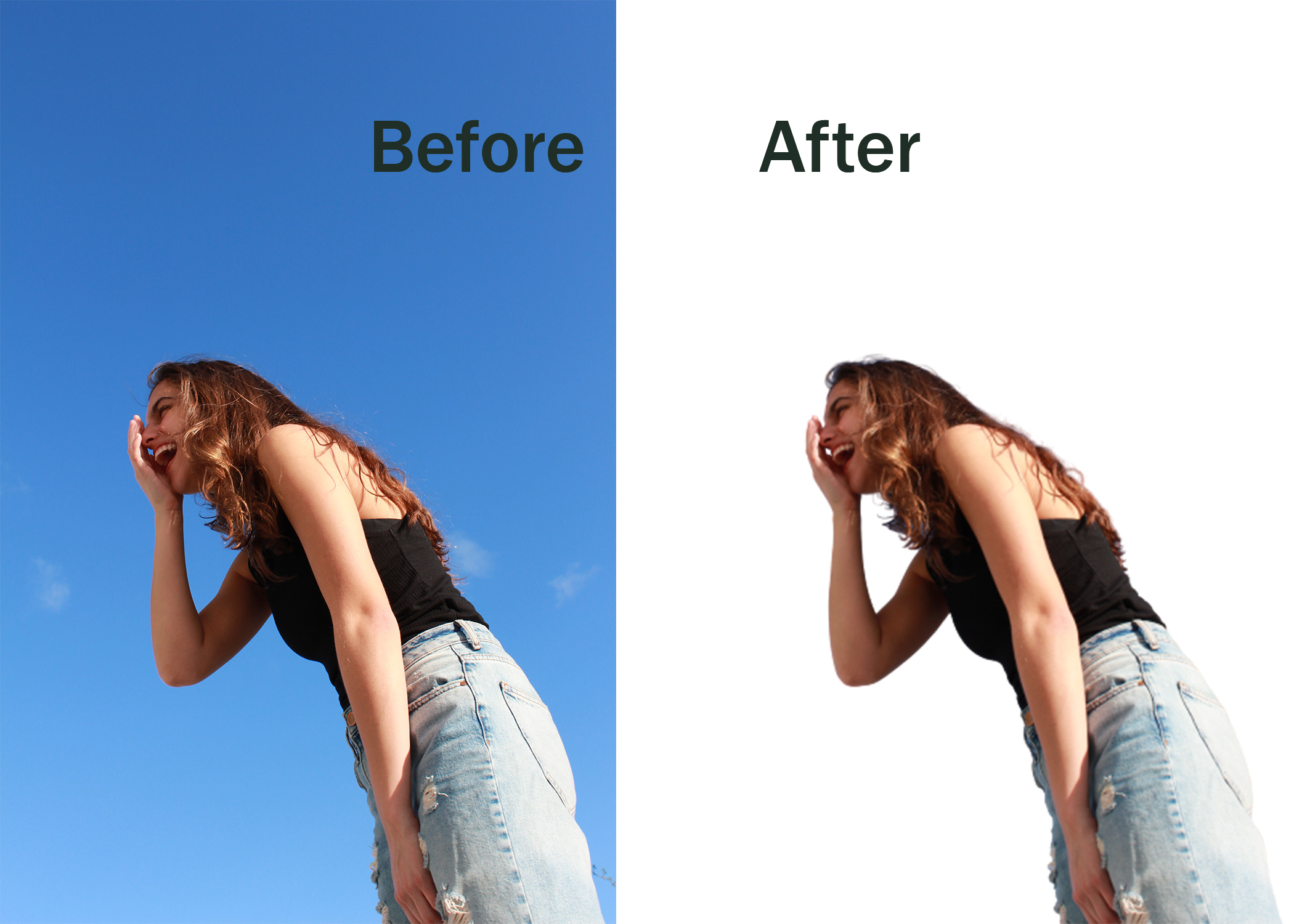 do any photo background removal, photoshop editing