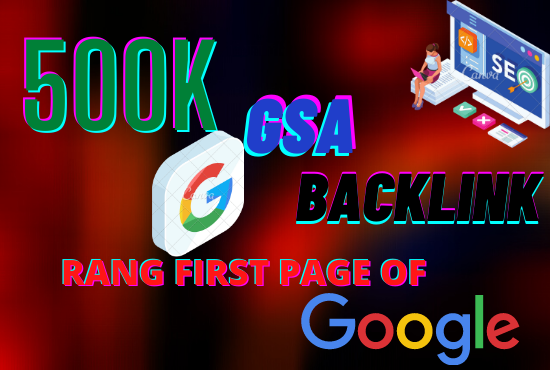 I will do making 500k high quality SEO backlinks