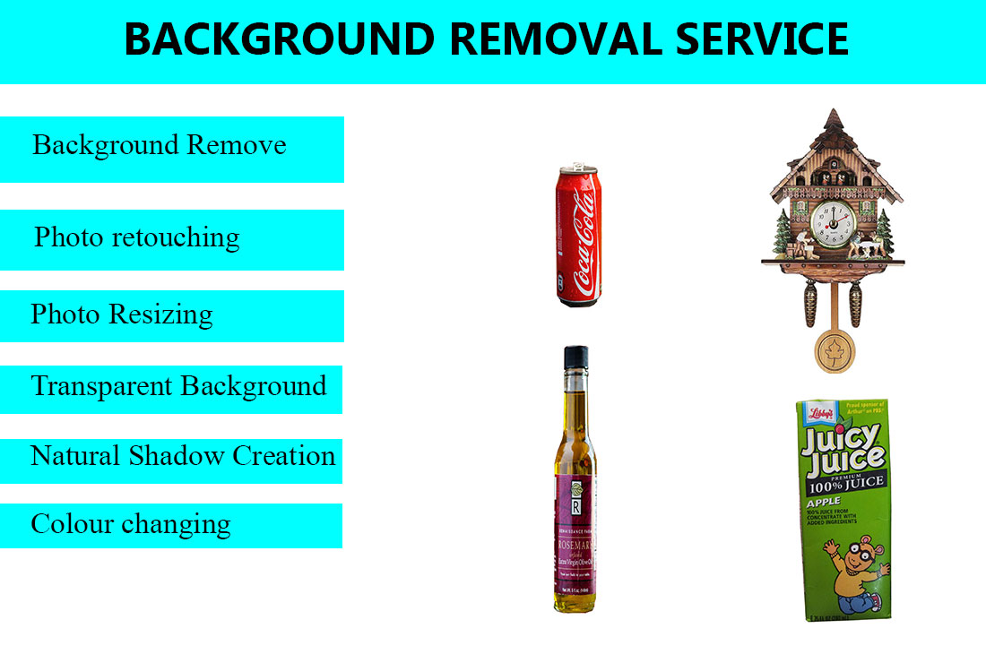 I will do 10 images background remove