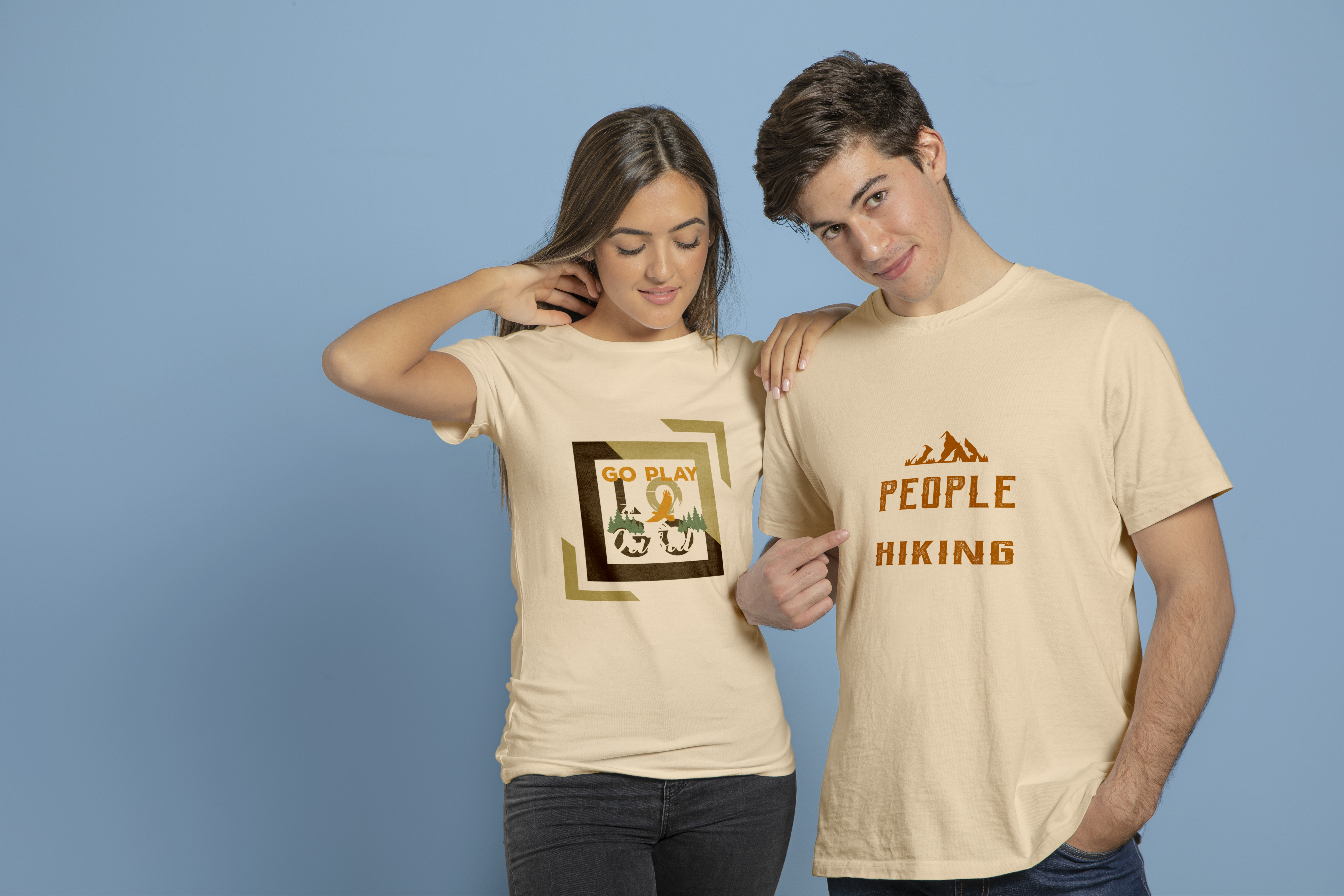 I will make 5 HD t-shirt or website mockup with with real models