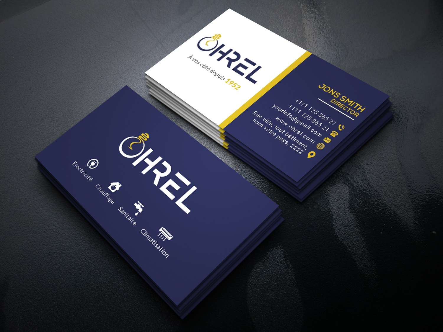 i will design your business card,  letterhead and logo