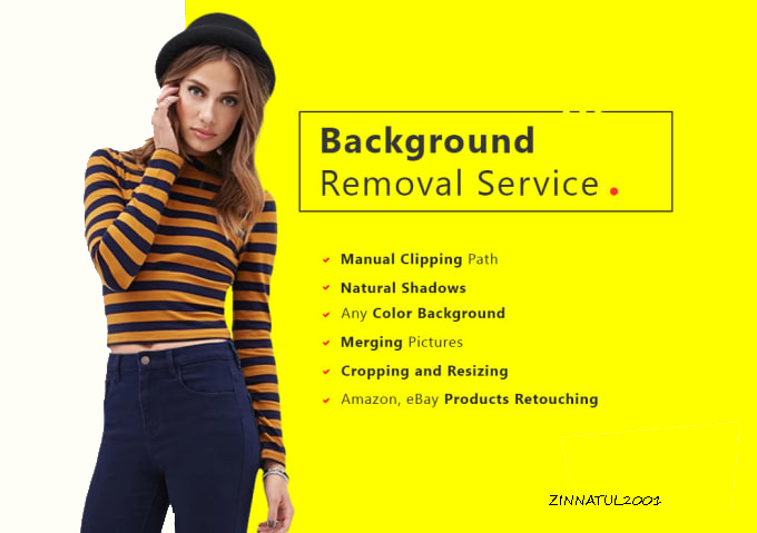 Background Remove Service and eye catch mockup of your logo and design