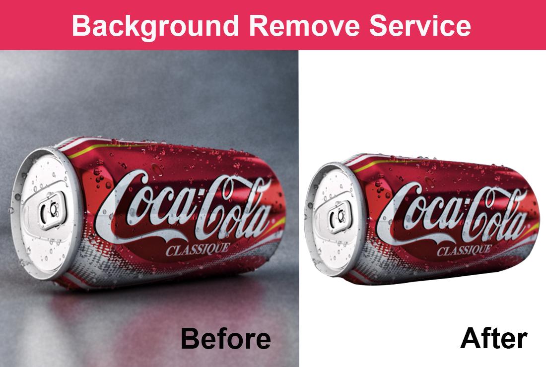 I will do background remove, retouching, resizing 5 images