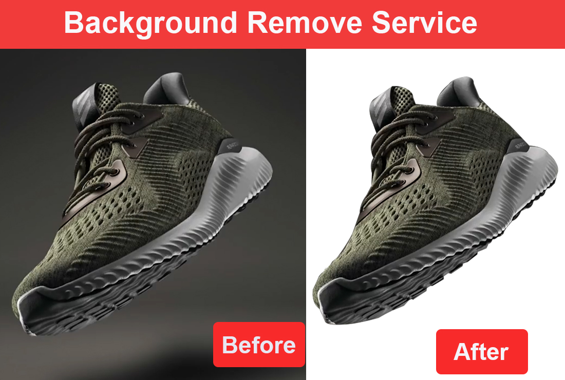 I will do background remove,  retouching,  resizing 5 images
