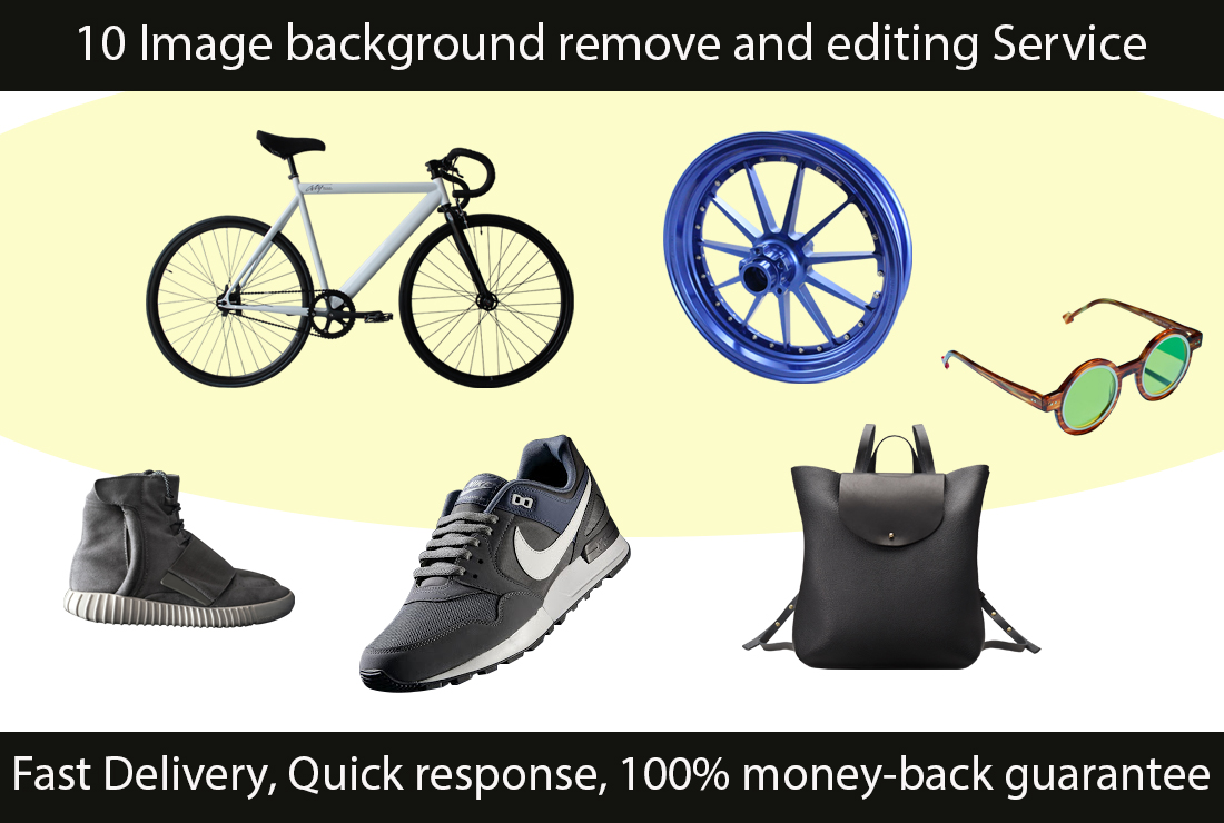 10 Image background remove and editing Service