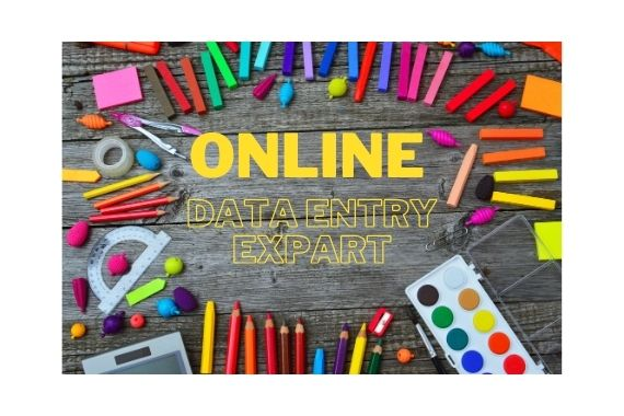 I will do data entry,  internet research