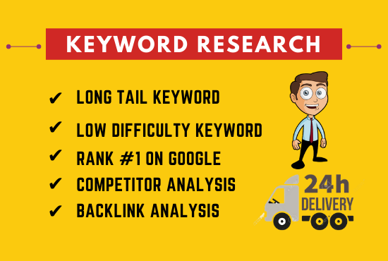 I will do 200 keyword research that actually rank