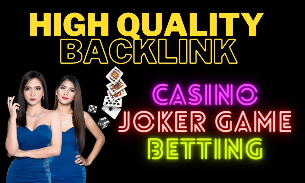 2000 Permanent CASINO Backlinks high DA 55+ PA 35+ PR6+ Web 2.0 Dofollow backlinks