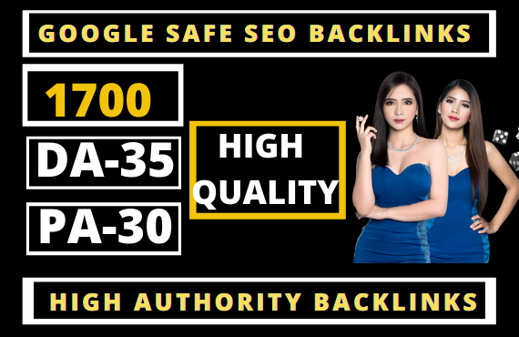 1700+ Permanent Backlinks Web2.0 with High TF/CF/DA-45 Do-follow Links Homepage Unique webs