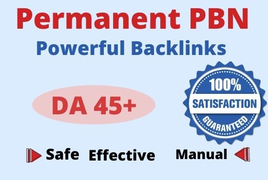 300+ Permanent PBN Backlinks Web2.0 with High TF/CF/ Do-follow Backlinks Homepage Unique websites