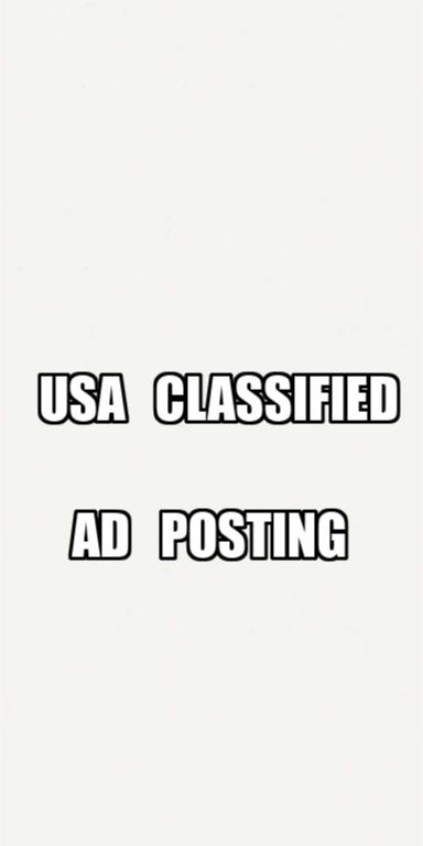i will post ur ads on top 40 usa classified ad sites