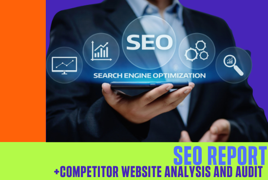 Provide expert SEO report and competitor analysis