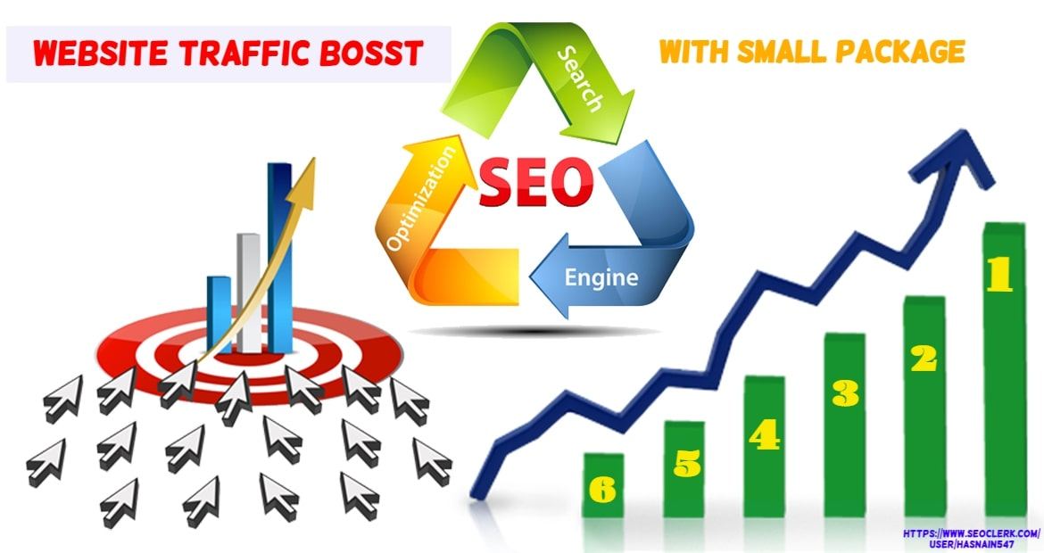 I will boost your website with small package