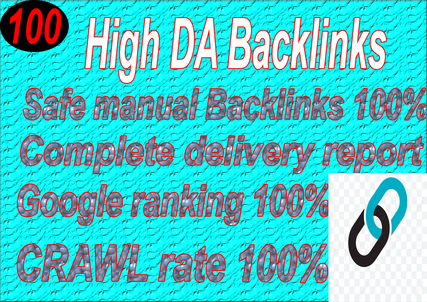 I will build 100 high DA authority Manual Seo Dofollow Backlinks