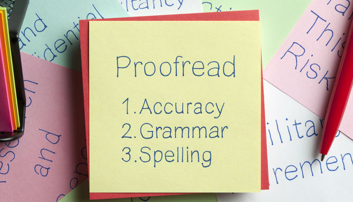 I will do proofreading and editing