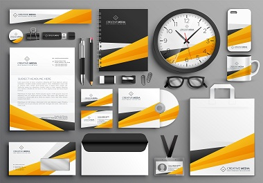 I will design business cards,  letterhead,  and stationery items