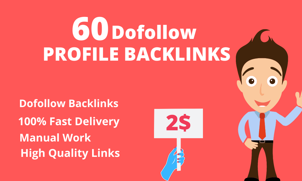 I will create PR 6 to 9 dofollow profile backlinks