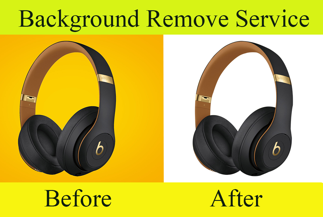Product photo background removal 5 images