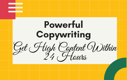 150 Words Powerful Copywriting for your website