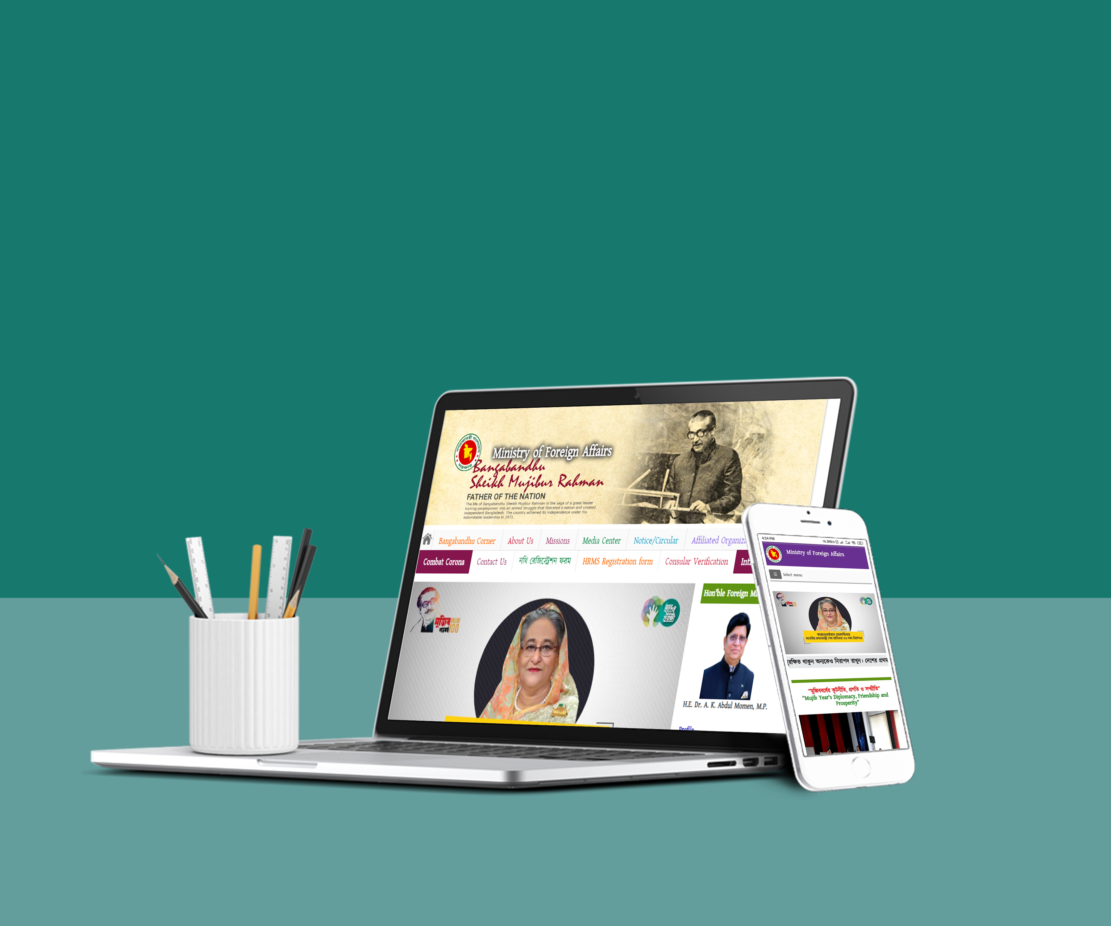 I will design 4 digital mockups for your company or brand or website within 4 hours