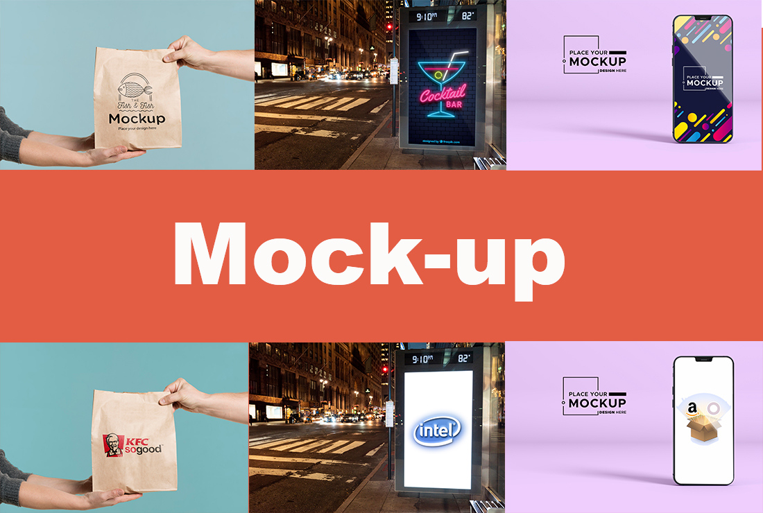 I will do Professional Product and Website Mockup Of Images Precisely Just in 4 hours