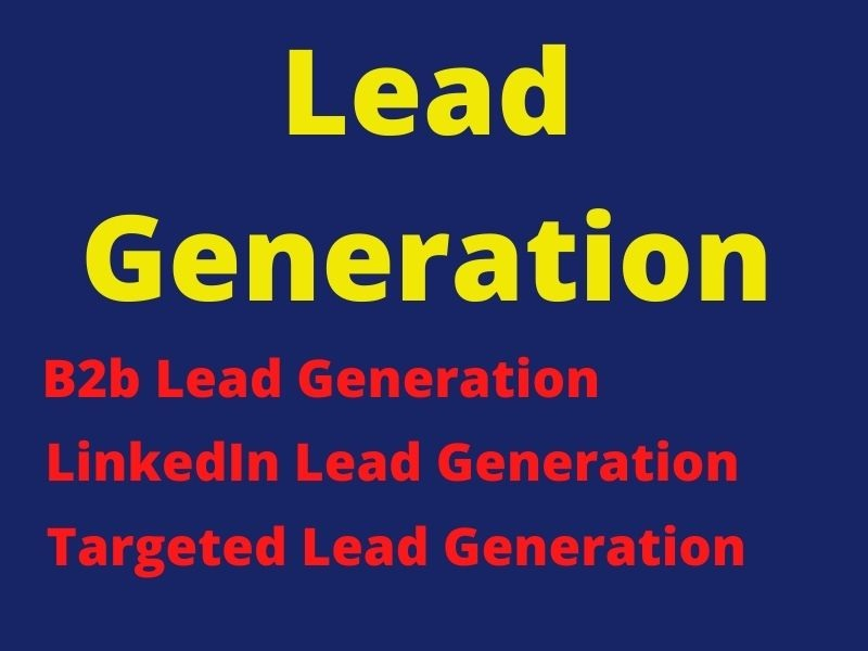 I will provide targeted lead generation services for your business