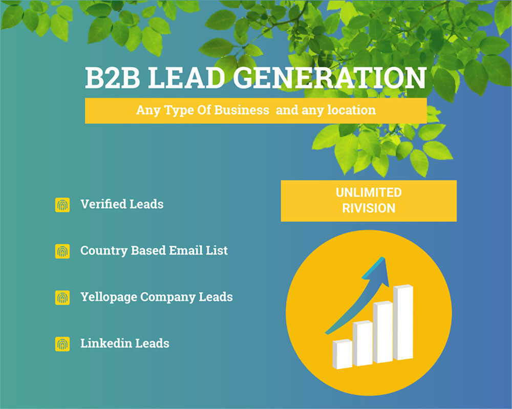 I will provide business lead generation by finding valid contact information