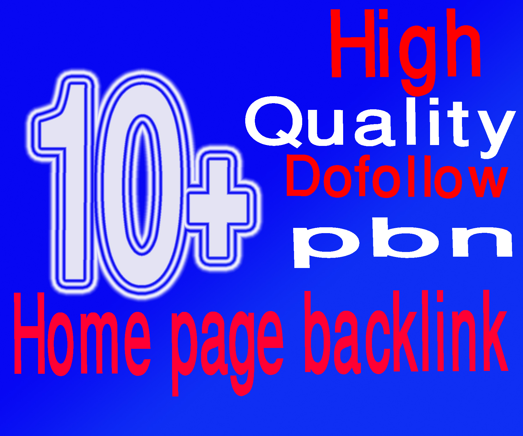 High quality Manual DoFollow PBN Backlinks for your site