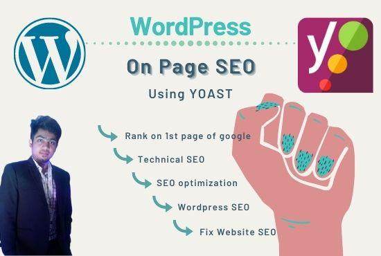 I will fix onpage seo optimization by yoast woadpress issues