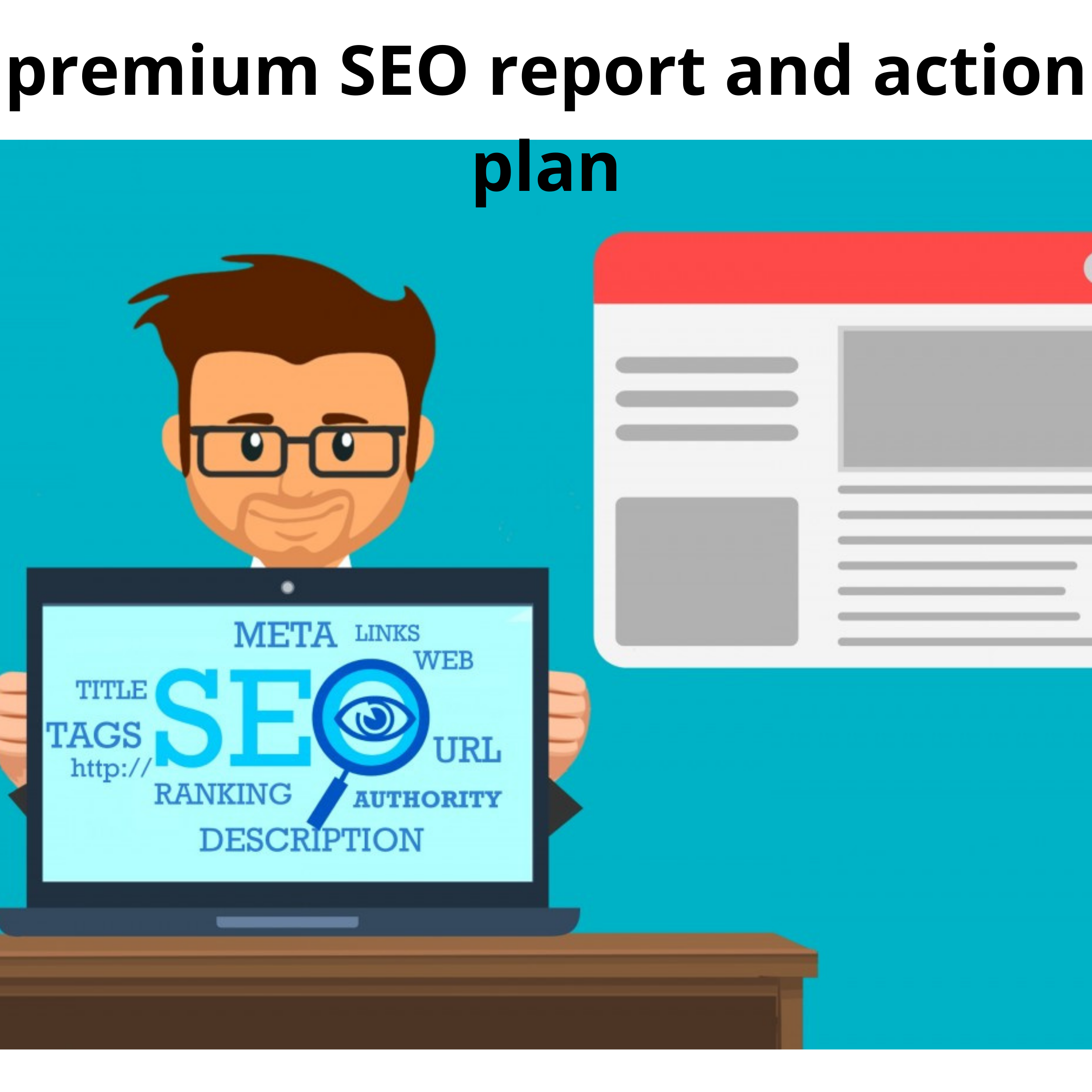 I will deliver a premium SEO report And keywords and backlinks with detailed report