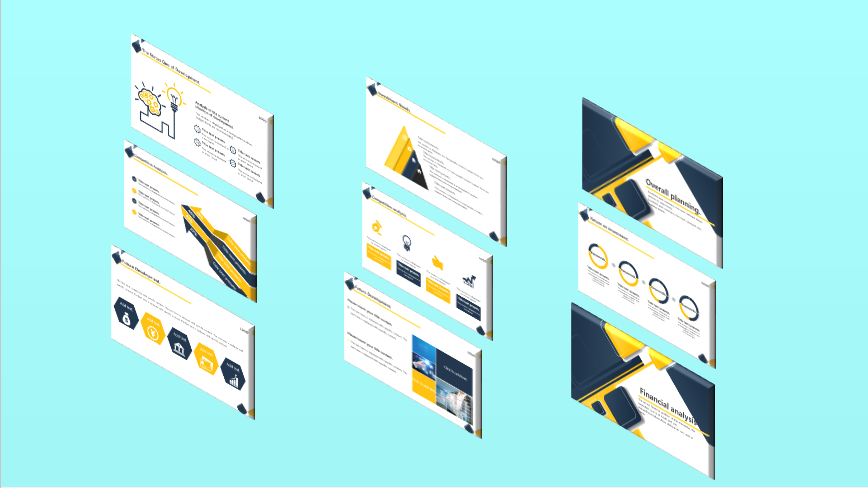 Awesome PowerPoint Template Design Only for You