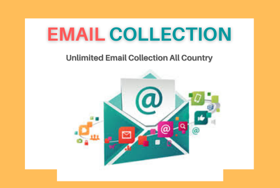 I will give you 100 verified email collection