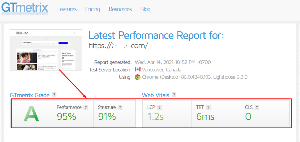 Speed up your wordpress website at gtmetrix and PageSpeed Insights for great score