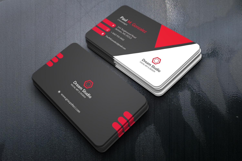 I will create a Minimalistic Business Card.